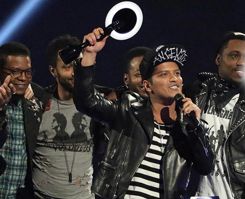 Bruno Mars BRIT Awards Winners