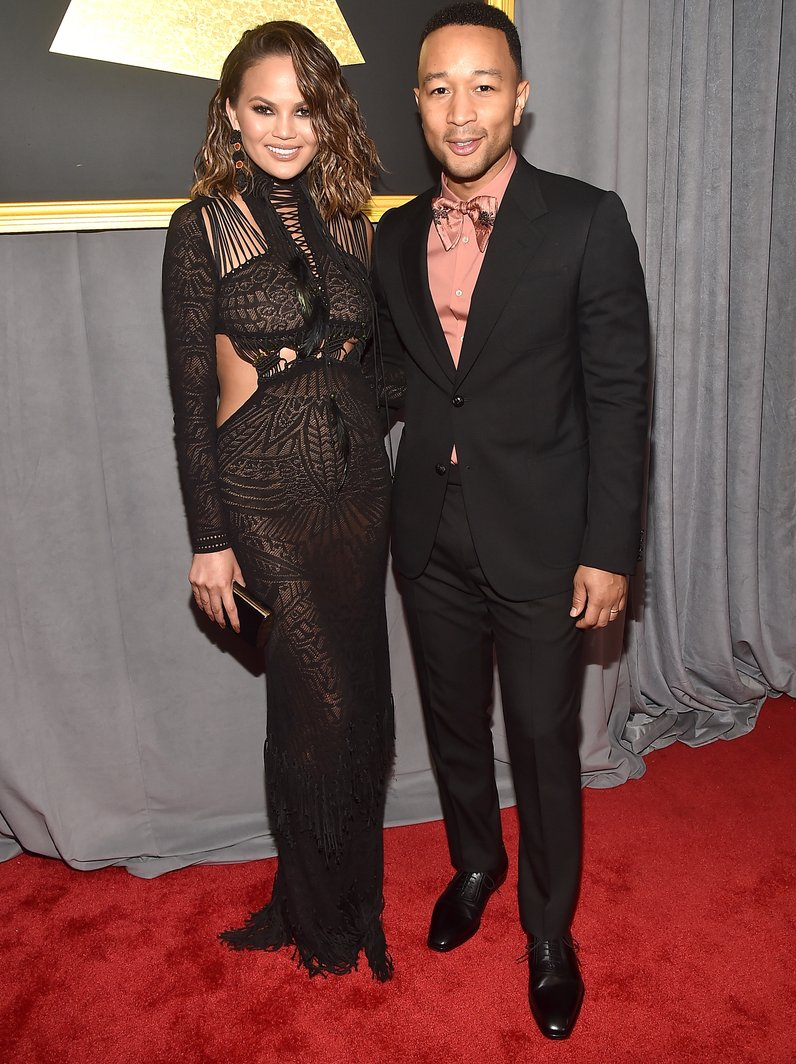 Chrissy Teigen and John Legend Grammy Awards 2017