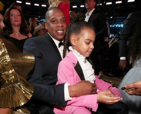 Jay-Z and Blue Ivy Grammy Awards 2017