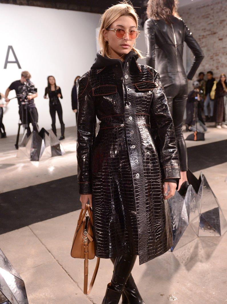 New York Fashion Week Catwalk Hailey Baldwin for R