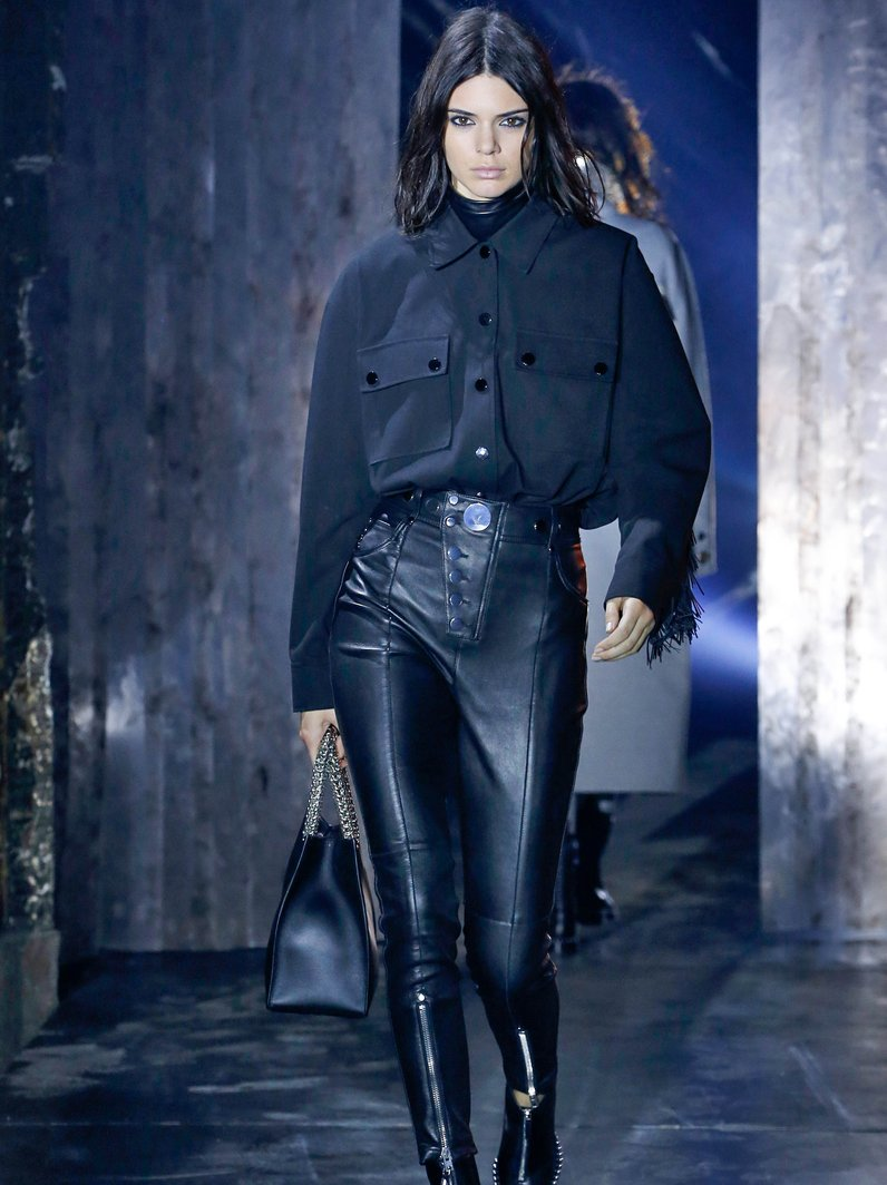 New York Fashion Week Catwalk Kendall Jenner for A