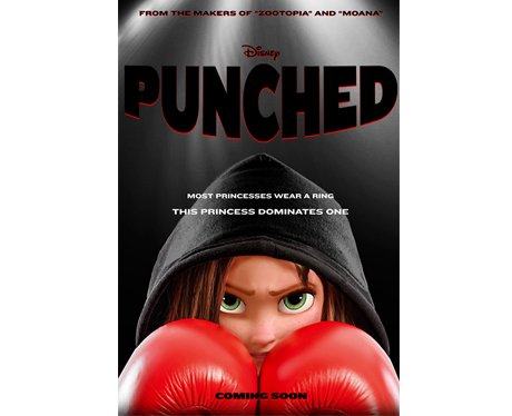 Punched - Spoof Disney film