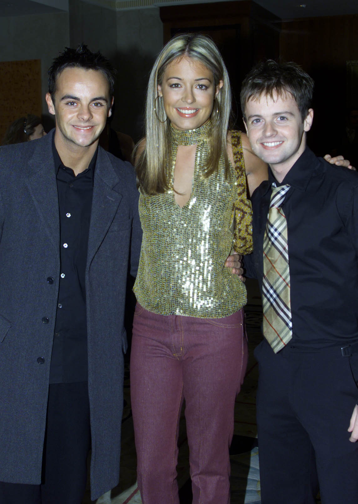 Ant & Dec with Cat Deeley