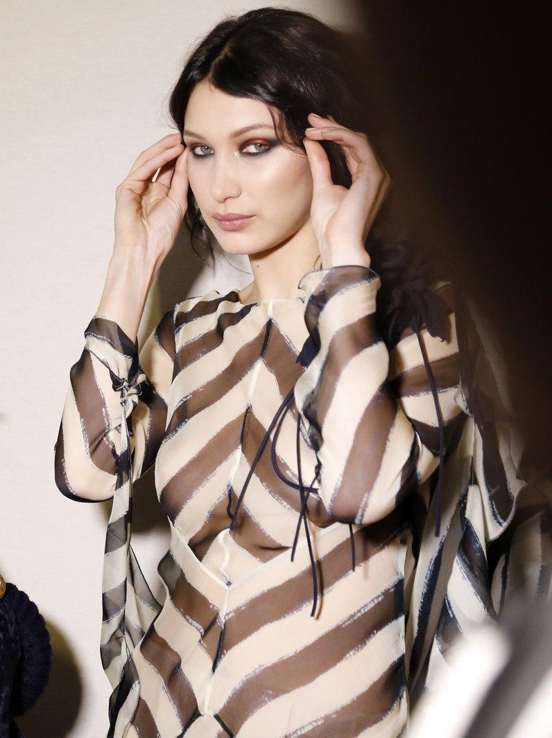Bella Hadid - Alberta Ferretti