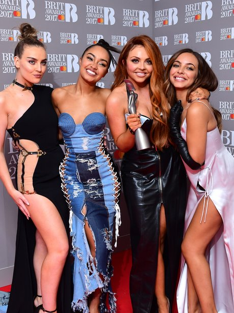 BRITs 2017 Little Mix Press Room