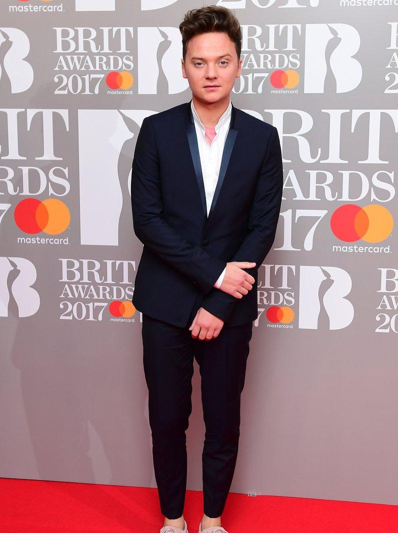 Conor Maynard BRITs 2017 Red Carpet Arrivals