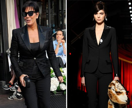 Kendall Jenner channels her inner Kris Jenner as s