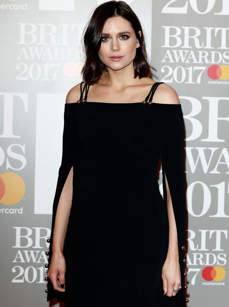 Lilah Parsons BRITs 2017 Red Carpet Arrivals