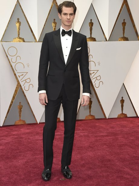Andrew Garfield arrives at the Oscars 2017
