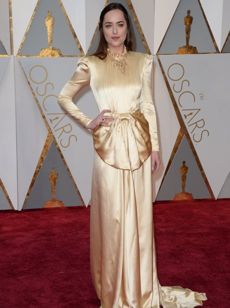 Dakota Johnson at the Oscars 2017