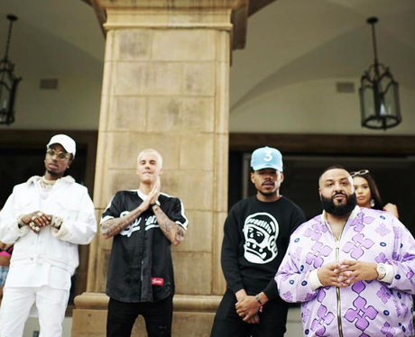 DJ Khaled announces collab with Justin Bieber and