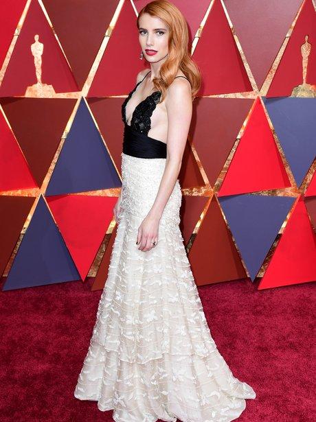 Emma Roberts at the Oscars 2017