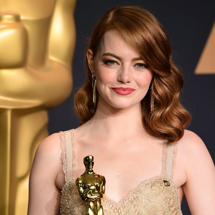 Emma Stone The 89th Academy Awards