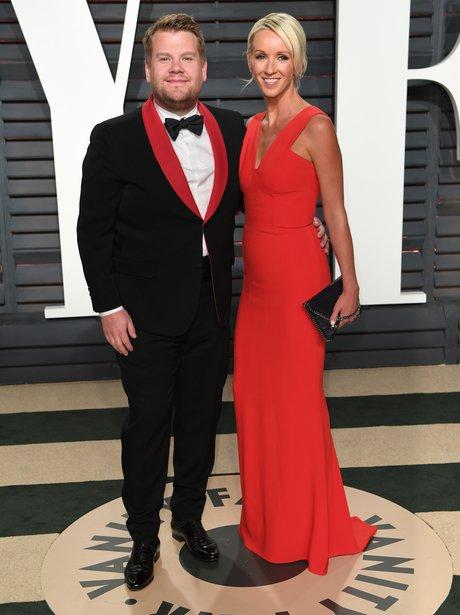 James Corden attends the Vanity Fair Oscar Party 2