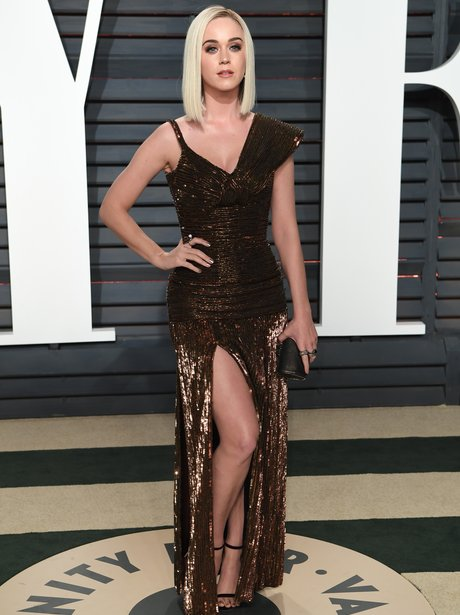 Katy Perry at the Vanity Fair Oscars Party 2017