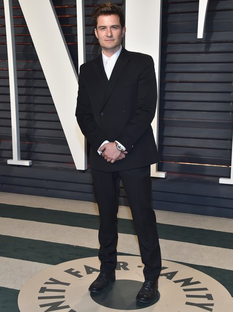 Orlando Bloom at the Vanity Fair Oscars Party