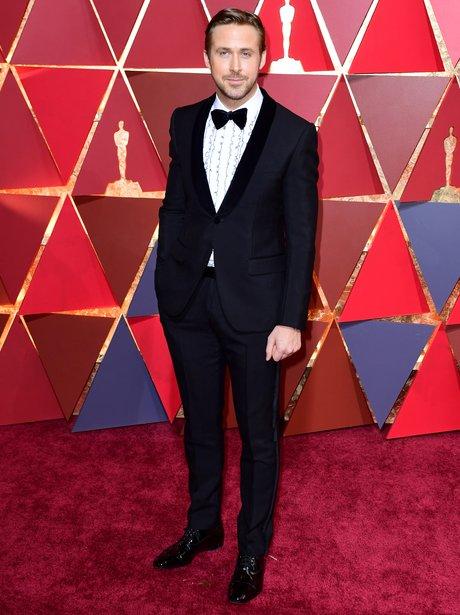 Ryan Gosling at the Oscars 2017