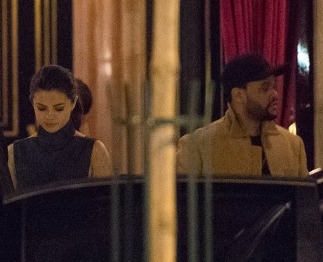 Selena Gomez and The Weeknd spotted in Paris - the