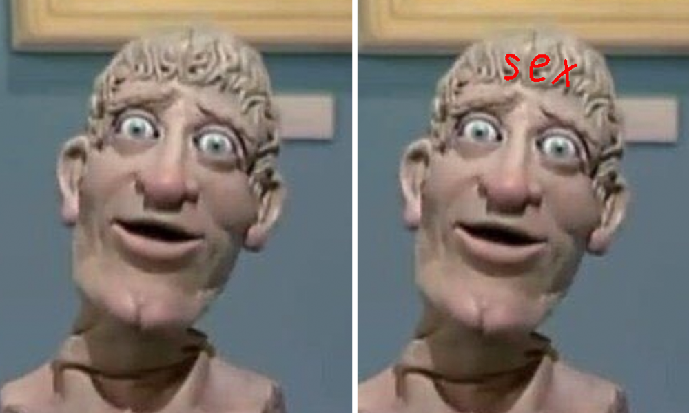 Art Attack X Rated Message
