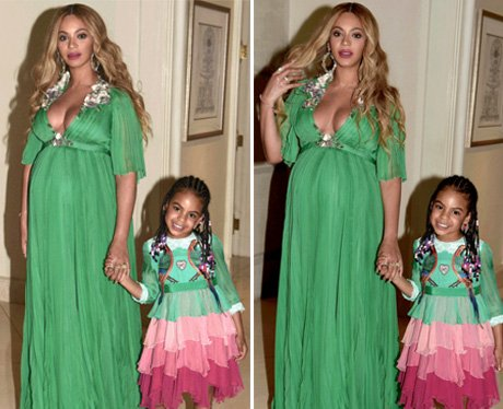 Beyonce and Blue-Ivy head to the Beauty & The Beas
