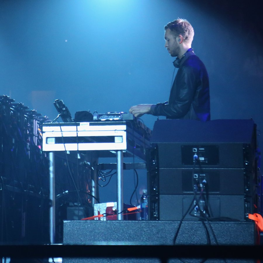 Calvin Harris KISS 108's Jingle Ball 2014