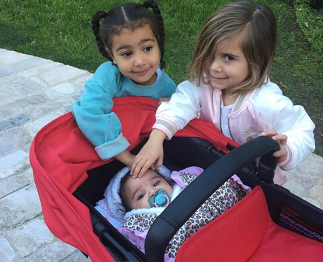 'Cousin love' - North West, Penelope Disick and Dr