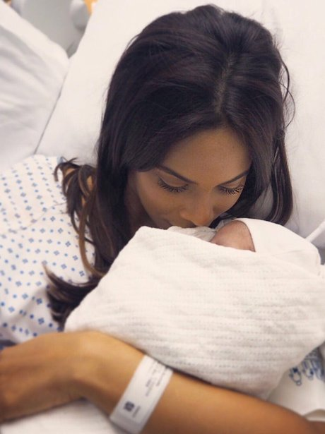 Rochelle Humes and Valentina Raine