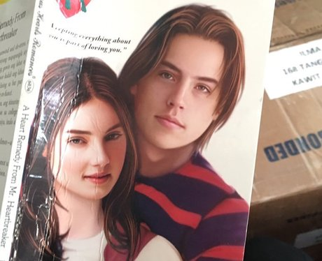 Cole Sprouse finds himself on the cover of trashy