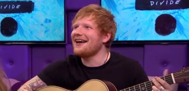 WATCH: Ed Sheeran Proves You Can Sing Every Pop Song Using