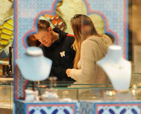 Stephen Bear and Charlotte Crosby go ring shopping