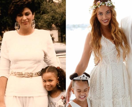 Mothers and Daughters who look alike