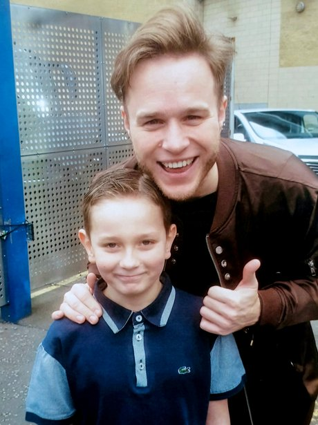 Olly Murs 'cures' mute child