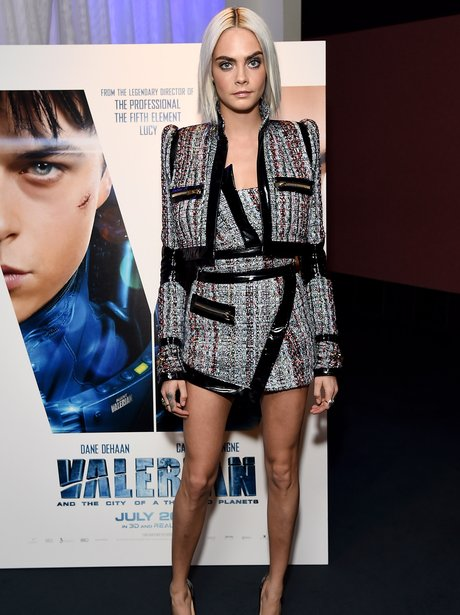 Cara Delevingne opts for futuristic vibes