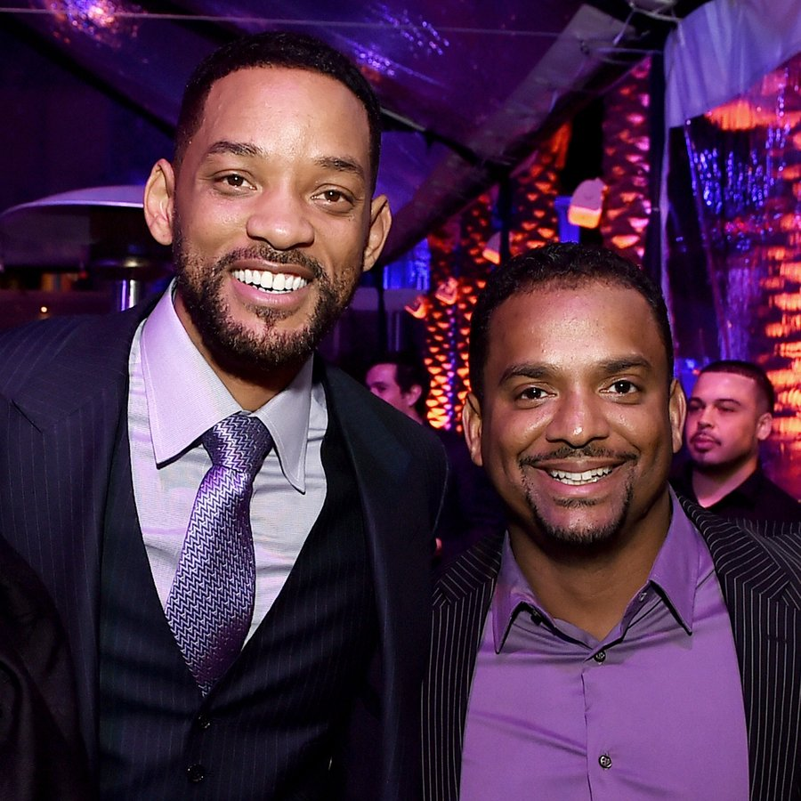 Will Smith and Alfonso Ribeiro Premiere Of Warner Bros. Pictures' 'Focus'
