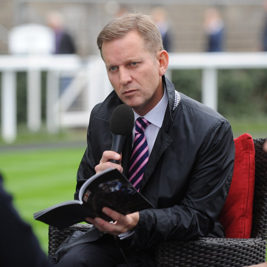Jeremy Kyle British Champions Day At Ascot Racecourse
