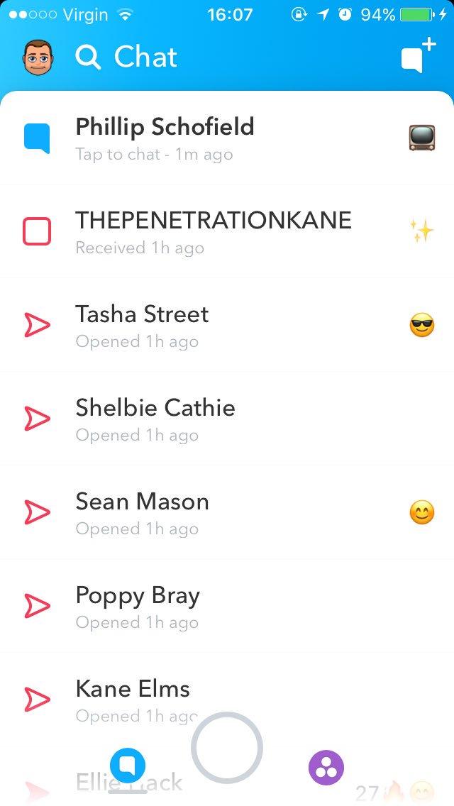 Schofe Snapchats