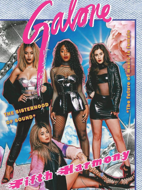 Fifth Harmony pose for their first magazine cover
