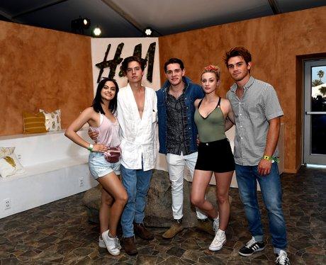 Coachella 2017 Cast of Riverdale