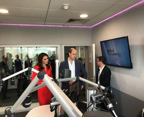 Duke and Duchess of Cambridge visit the studios at