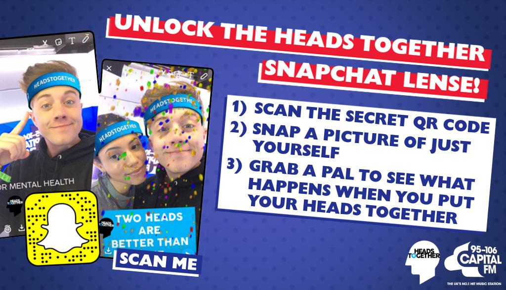 Heads Together Snapchat