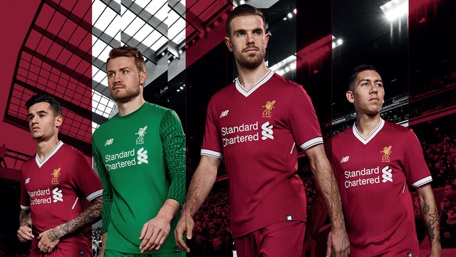 Win The New 2017 2018 Liverpool FC Home Kit! - Capital Liverpool 6721e0452