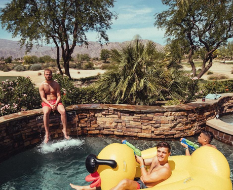 Martin Garrix enjoys some chill time at Coachella