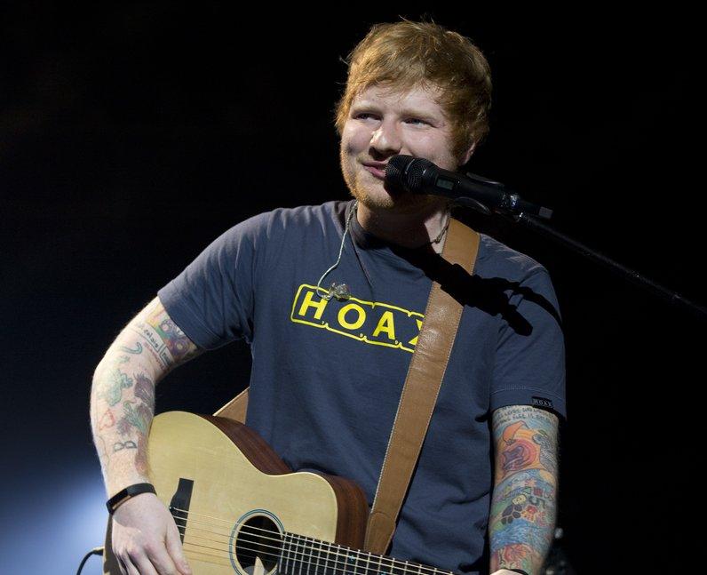 Ed Sheeran Teenage Cancer Trust gig 2017