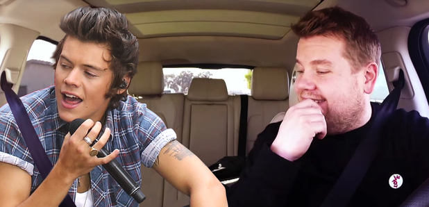 Watch Harry Styles Called James Corden On Facetime And Proved They
