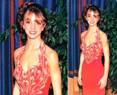 Prom Throwback Photos Britney Spears