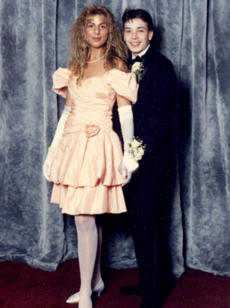 Prom Throwback Photos Jimmy Fallon