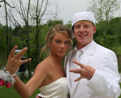 Prom Throwback Photos Taylor Swift