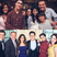 Image 1: Selena Gomez and the cast of Wizards of Waverly Pl