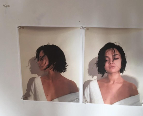 Selena Gomez with short hair