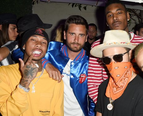 Tyga hangs out with Scott Disick, after breaking u